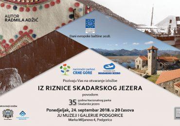 """Izložba """"Iz riznice Skadarskog jezera"""""""