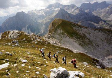 Planinari osvojili prokletijski vrh Maja Rosit