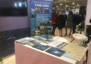 Nacionalni parkovi Crne Gore učestvovali na međunarodnom sajmu turizma u Novom Sadu