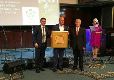 Javno preduzeće za nacionalne parkove Crne Gore  dobitnik međunarodne nagrade za turizam Golden Interstas